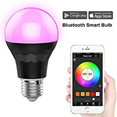 Introducing MagicLight Bluetooth Smart LED Light Bulb Meet MagicLight Bluetooth, a revolutionary new light bulb that changes the way you see lights. MagicLight Bulb is a Bluetooth enabled, multicolored, energy efficient smart LED light bulb t...