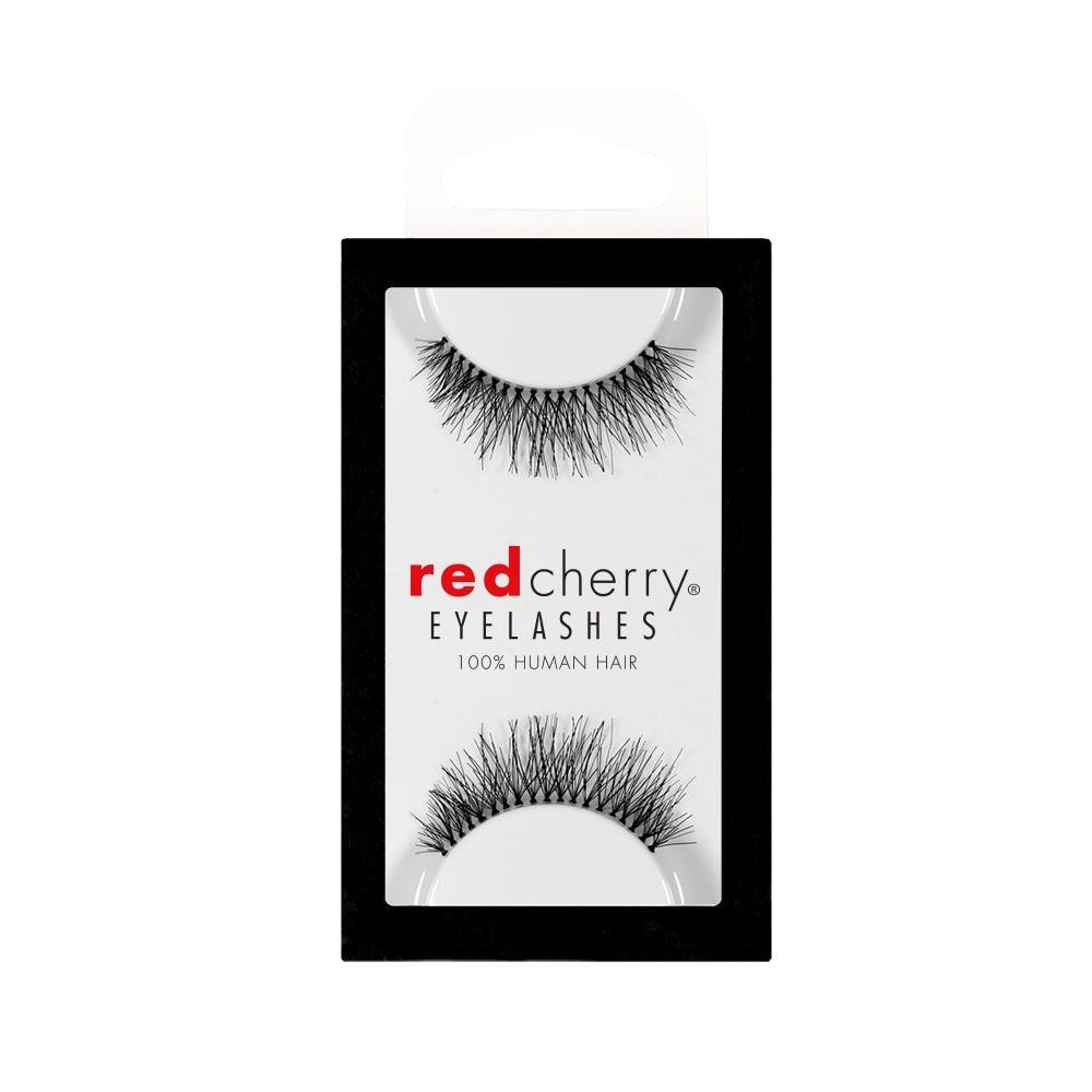 Amazon Red Cherry 213 False Eyelashes Pack Of 6 Pairs Red
