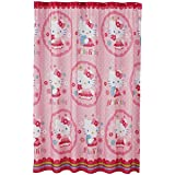 gold and pink shower curtain. Hello Kitty Fabric Shower Curtain By Sanrio Amazon com  Pink Curtains Hooks Liners Bathroom