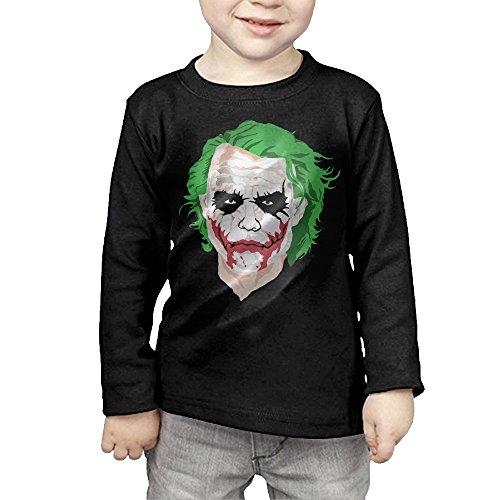 CAYCGH Child Kids The Joker Long Seelve Baseball Jersey T-Shirt Tee 4 Toddler