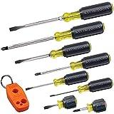 Klein Tools 85148 Screwdriver Set 8pcs Includes