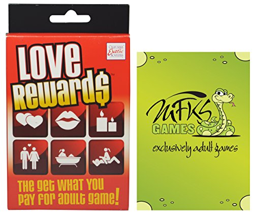 Love Reward$ - Adult Card Game For Couples - Bundle - 2 Items by MFKS Games (Halloween Games Adults)