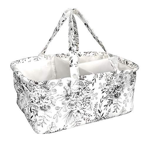 9726c45e930f Baby Diaper Caddy - XL Nursery Storage Basket, Organizer for Changing Table  by Kiddo Kind