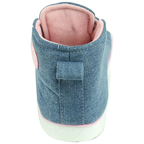 Forfoot Womens Ladies Winter Warm Indoor House Shoes Sneaker Slippers Anti-Skid Dark Blue Ex73RqFT