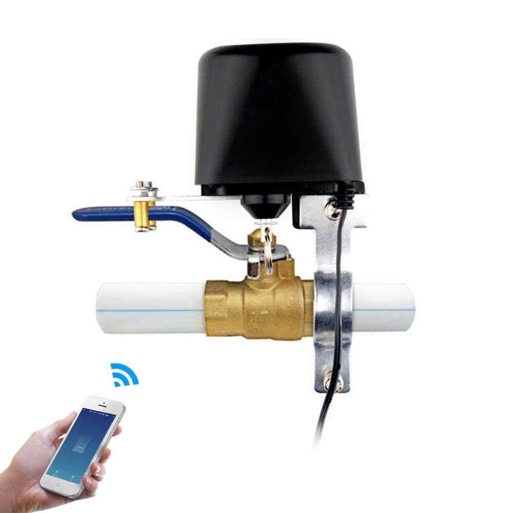 Mariisay Control De V/álvula Wifi Control De Wifi Inteligente V/álvula Chic De Agua//Gas Apertura Y Cierre De La V/álvula De Agua Control De La Aplicaci/ón Smart Life Compatible Para Ios//Android Alexa