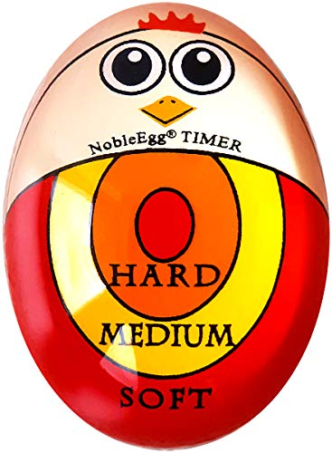 NobleEgg Egg Timer | Soft Hard Boiled Egg Timer That Changes Color When Done | No BPA, ()
