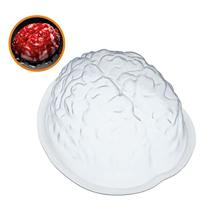 KitchenCraft SPKYJELBRAIN - Molde para gelatina, color blanco