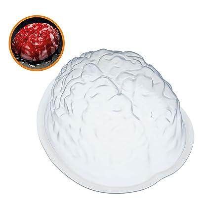 KitchenCraft SPKYJELBRAIN - Molde para gelatina, color blanco