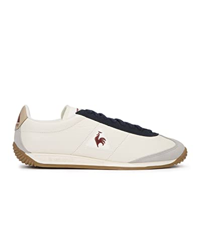 d90847d78e LE COQ SPORTIF - Trainers - Men - Off-white Quartz Leather Sneakers for men  - 42: Amazon.co.uk: Shoes & Bags