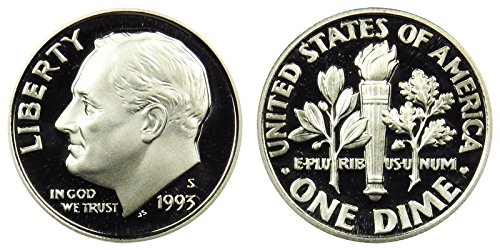 1993 S Silver Proof Roosevelt Dime PF1