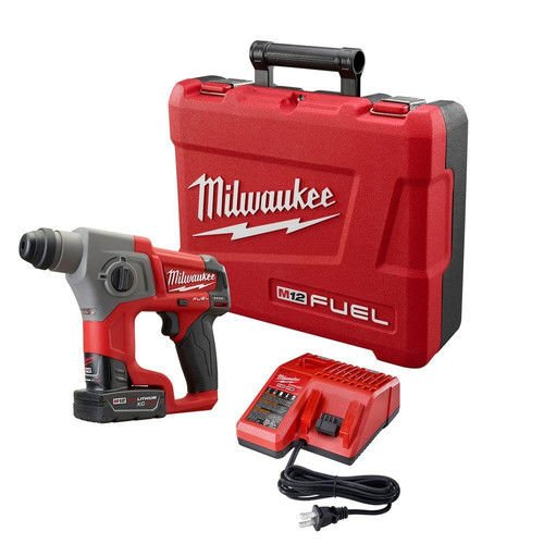 12v milwaukee fuel hammer drill - 4