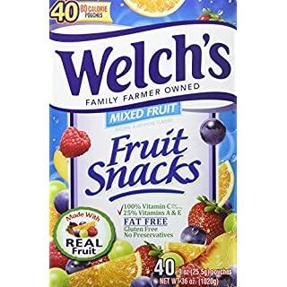 WELCH'S Fruit Snacks, Mixed Fruit, 13.5 Pound