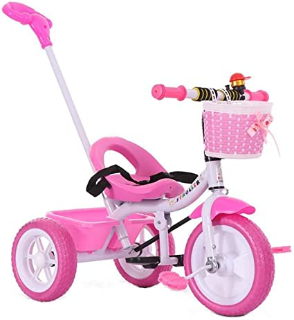 Kids Tricycle Bike Toddlers with Push Handle
