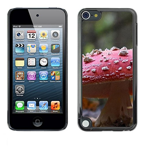 Soft Silicone Rubber Case Hard Cover Protective Accessory Compatible with Apple IPod Touch 5 - Plant Nature Forrest Flower 107
