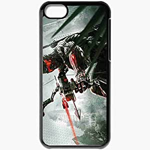 Personalized iPhone 5C Cell phone Case/Cover Skin Apocalypse Nanosuit City Jungle Onion Boom Black