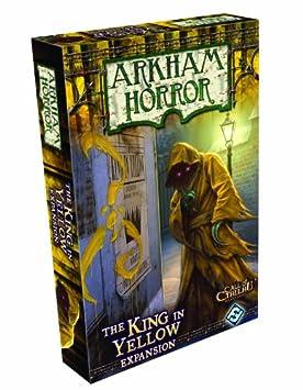 Edge Entertainment - El Rey de Amarillo: Arkham Horror, juego de mesa (EDGAH04)