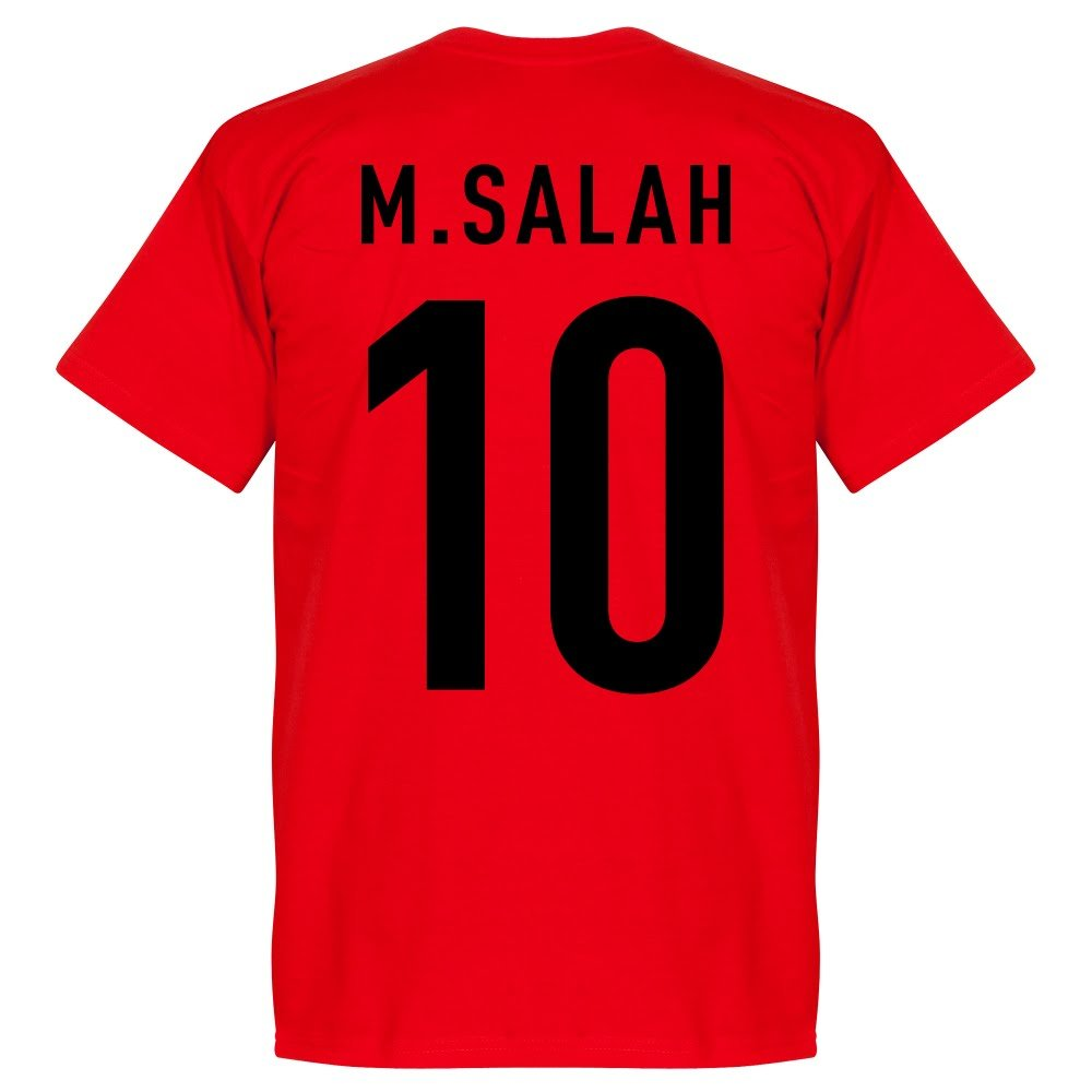 Egypt Salah 10 Team Tee - Red Retake