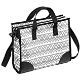 Jolly Jumper Mommy Bag, Grey/White, One Size