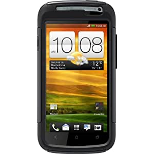OtterBox 77-18981 Defender Series Hybrid Case and Holster for HTC One S - 1 Pack - Retail Packaging - Black