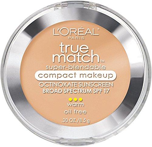 L Oreal True Match Super-Blendable Compact Makeup, Sand Beige W5 , 0.30 oz