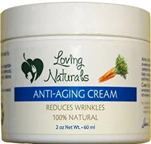 Loving Naturals Anti Aging Cream with Alpha Lipoic Acid and Carrot Seed Oil - 2 oz.