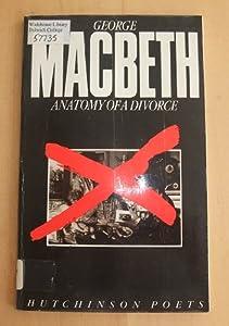 Anatomy of a Divorce book by George MacBeth