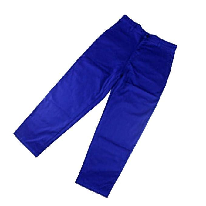 SM SunniMix Pantalones Ropa Soldadura Retardante Soldador Azul Ensayo Eléctrico Aficionado de Electrónica: Amazon.es: Ropa y accesorios