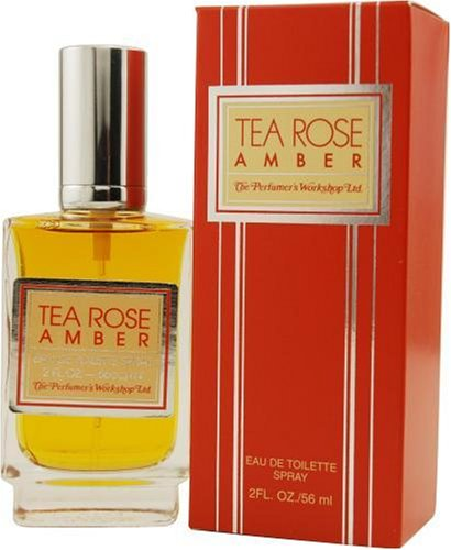 - Tea Rose Amber By Perfumers Workshop For Women, Eau De Toilette Spray, 2-Ounce Bottle