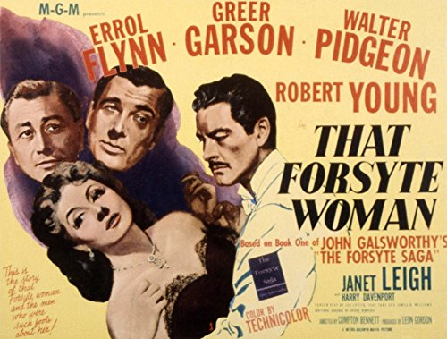 Posterazzi That Forsyte Woman Greer Garson Errol Flynn Robert Young Walter Pidgeon 1949 Movie Masterprint Poster Print (28 x 22)