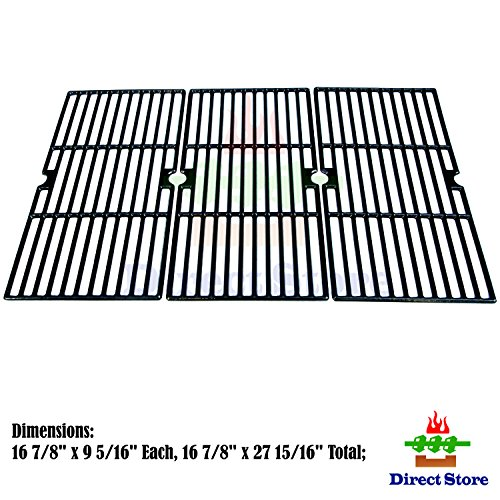 Find Discount Direct store Parts DC121 Porcelain Cast Iron Cooking grid Replacement Charbroil ,Kenmore ,Master Chef Gas Grill