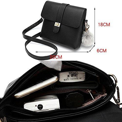 Art- und Weisedame-Beutel-Handtaschen-haltbare Geldbeutel-Tote-Beutel-Tendenz-Schulter-Beutel E