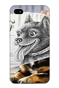 Awesome OBpyaY-3046-XZazG Recalling Defender Tpu Hard Case Cover For Iphone 4/4s- Animal Dog