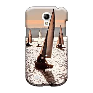 JacquieWasylnuk Samsung Galaxy S4 Mini Protector Hard Phone Cover Custom High-definition Dinghy Sailing Pattern [mZA28324iVWV]