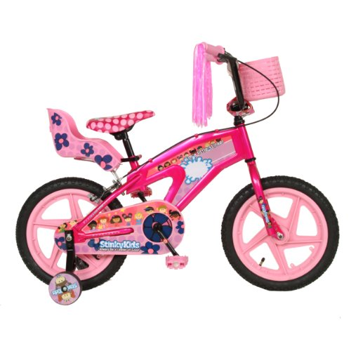 StinkyKids Miss-Behavin Kid's Bike, 16 inch Wheels, 11 inch