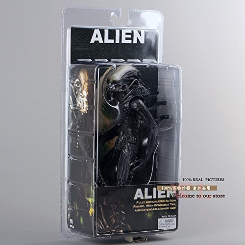 "Toy, Play, Fun, NECA Official 1979 Movie Classic Original Alien PVC Action Figure Collectible Toy Doll 7"" 18cm MVFG035, Children, Kids, Game"