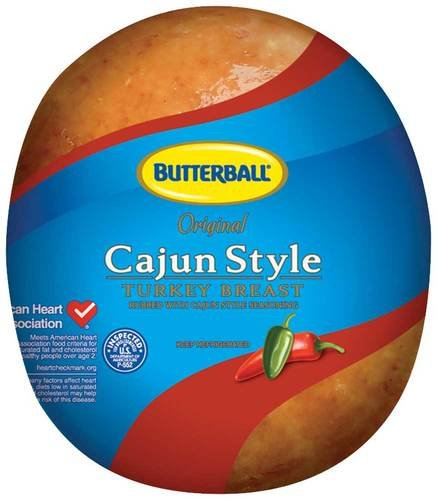 Butterball Cajun Style Turkey Breast, 6.5 Pound -- 2 per case. by Butterball
