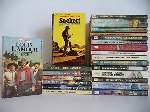 The Complete Sackett Family Saga (Ride The Dark Trail By Louis L Amour)