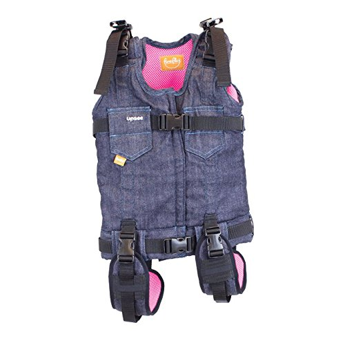 Firefly by Leckey Upsee Mobility Device – Mobility Harness for Children with Motor Impairments - Pink, Medium from FIREFLY