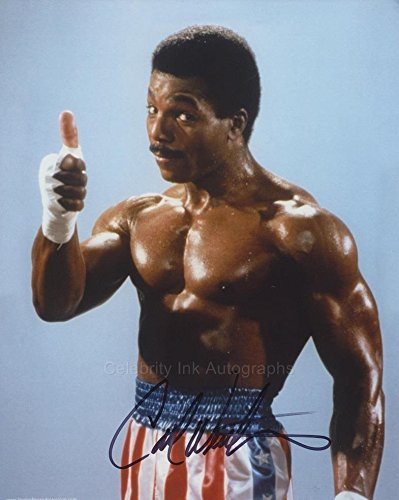 Carl Weathers as Apollo Creed (Rocky) – Autograph
