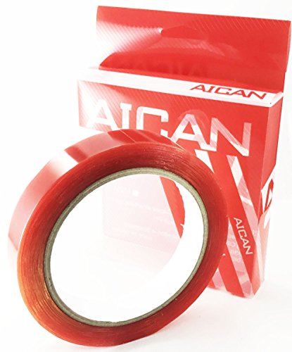 AICAN Bike Double Sided Gluing Tape For Road Tubular Bicycle Bike Tire Carbon And Alloy Rims width19mmX12M/4M/2M