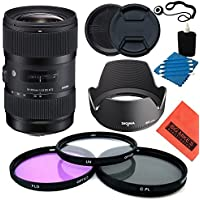 Sigma 18-35mm f/1.8 DC HSM Art Lens for Nikon DSLRs - Starter Kit