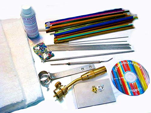 Devardi Glass Lampwork, Beadmaking Starter Kit - Basic