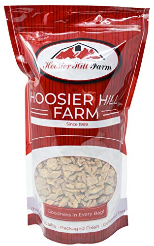 - Imitation Chicken Strips (Unflavored TVP SOY Protein), 3 lb Bag, by Hoosier Hill Farm
