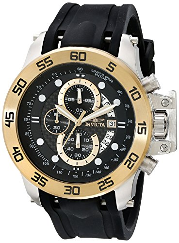 Invicta Men's 19253 I-Force 18k Gold Ion-Plated Stainless St