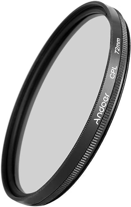 Cámara Lente Filtro FLD UV CPL Polarizador Circular para las cámaras réflex digitales DSLR