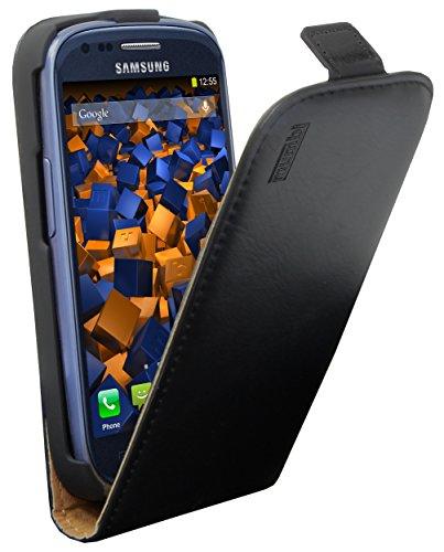 mumbi PREMIUM Leder Flip Case Samsung Galaxy S3 mini Tasche