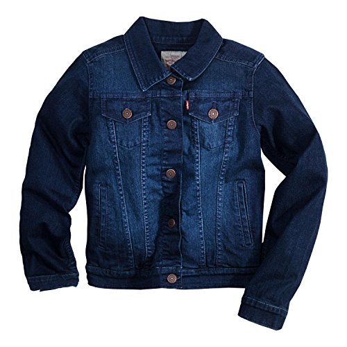 Levi's Girls' Denim Jacket (Jacket Denim Small)