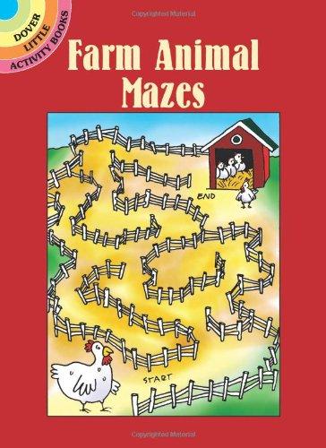Farm Animal Mazes (Dover Little Activity Books)