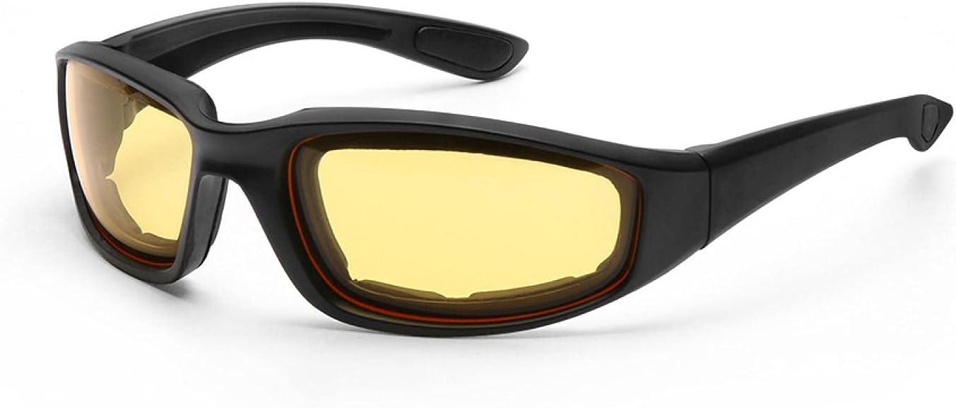 YYLSHCYHLI Gafas de Seguridad Gafas para Montar en Motocicleta Gafas a Prueba de Viento y Polvo Herramientas de protección Ocular