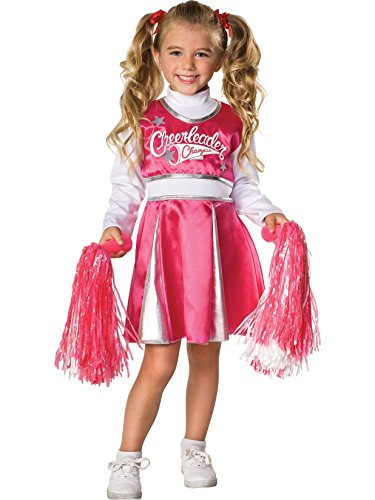 Let's Pretend Child's Cheerleader Camp Costume, Medium -
